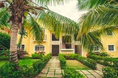 Роскошная вилла в Доминиканской Республике, иметь Стоковое Изображение
