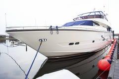 роскошная гаван яхта стоковое фото rf