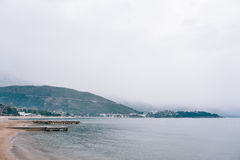 Роскошная гостиница сложное Dukley в Budva, Черногории Стрельба с Стоковые Фотографии RF