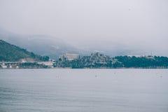 Роскошная гостиница сложное Dukley в Budva, Черногории Стрельба с Стоковое Фото