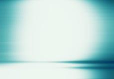 Роскошная голубая польза колодца студии как предпосылка, план и presentati Стоковые Фотографии RF