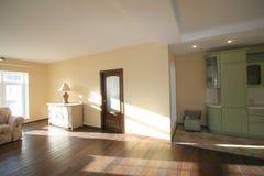 Роскошная живущая комната, красивый вход Стоковые Изображения
