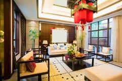 Роскошная живущая комната Стоковое Изображение RF