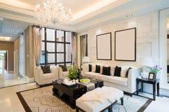 Роскошная живущая комната Стоковые Фото