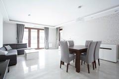 Роскошная живущая комната стоковое фото rf