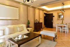 Роскошная живущая комната Стоковое Изображение