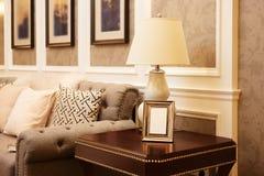 Роскошная живущая комната Стоковые Изображения RF
