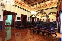 Роскошная зала встречи стоковые фотографии rf