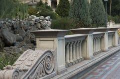 Роскошная каменная балюстрада Стоковая Фотография RF