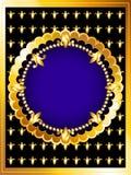 Роскошная карточка золота Стоковое Изображение RF