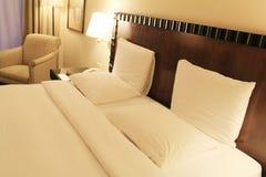 Роскошная комната кровати Стоковое Изображение