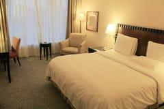 Роскошная комната кровати Стоковые Изображения RF