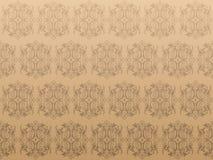 Роскошная коричневая предпосылка Иллюстрация вектора