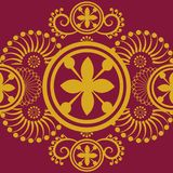 Роскошная королевская картина золота Стоковое Фото