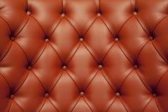 Роскошная красная кожа Стоковые Фотографии RF