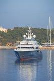 Роскошная мега яхта Стоковое фото RF