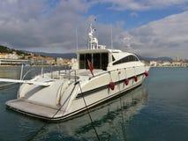 роскошная морская приватная яхта Стоковые Изображения RF