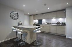 Роскошная домашняя кухня Стоковое Изображение RF