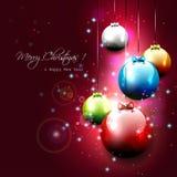 Роскошная предпосылка рождества Стоковая Фотография RF