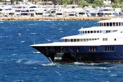 Роскошная приватная яхта Стоковое Изображение