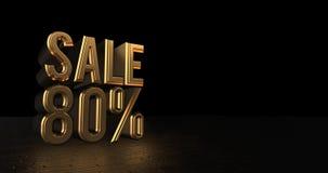 Роскошная продажа продвижения дизайна Стоковая Фотография RF