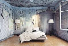 Роскошная спальня Стоковое фото RF