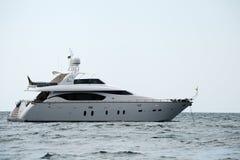 роскошная яхта мотора Стоковое Фото