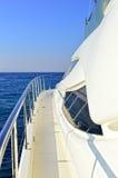 Роскошная яхта мотора Стоковые Изображения