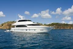 роскошная яхта Стоковое Фото