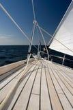 роскошная яхта Стоковые Изображения