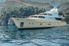 Роскошная яхта Стоковая Фотография RF