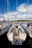 роскошная яхта Стоковое фото RF