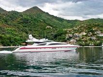 роскошная яхта Стоковое Изображение RF
