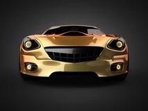 Роскошная brandless спортивная машина Стоковые Фото