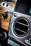 Роскошное вентиляционное отверстие автомобиля стоковое фото rf