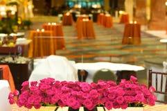 роскошное венчание таблицы установки приема Стоковые Изображения