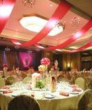 роскошное венчание таблицы установки Стоковое Фото