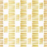 Роскошное золото Stripes предпосылка картины вектора Confetti нарисованная рукой иллюстрация штока
