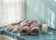 Роскошное избежание ванны стоковые фото