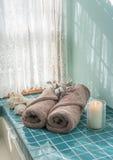 Роскошное избежание мастерской ванны стоковое фото rf