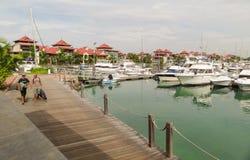 Роскошное место жительства - остров eden - Сейшельские островы Стоковое фото RF