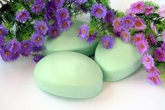 роскошное мыло Стоковые Фотографии RF