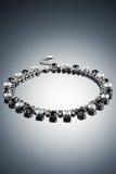 Роскошное ожерелье на темной предпосылке Стоковая Фотография RF