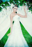 Роскошное платье Стоковое Изображение
