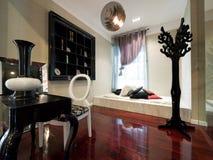 роскошное самомоднейшее изучение комнаты Стоковые Фото