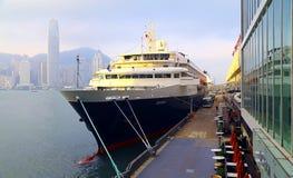 Роскошное туристическое судно Стоковое фото RF