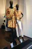 Роскошное womenswear Германия витрины бутика Стоковое фото RF