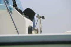 Роскошное yatch на детали моря Стоковые Изображения RF