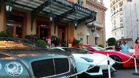 Роскошные автомобили в Монако акции видеоматериалы