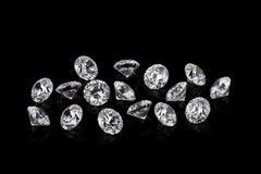 Роскошные диаманты Стоковое Изображение RF